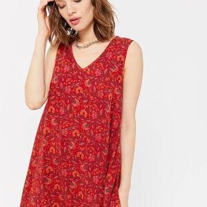 UrbanOutfitters Spruce Sleeveless Mini Shift Dress